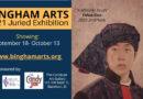 Juried Art Exhibition begins Sept. 18