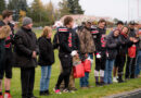 Shelley Russet Football recognizes seniors at the last home game
