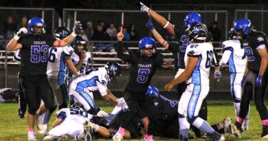 Cougar Football wins on Senior Night